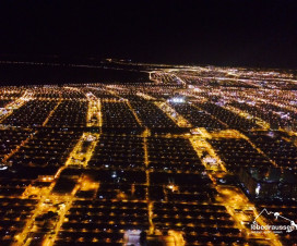 Brasilien: Cuiaba bei Nach im Anflug