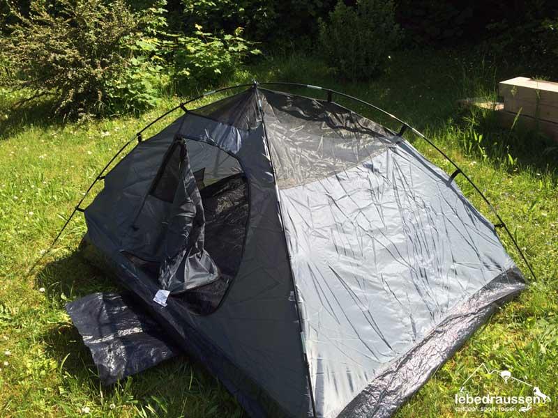 camping eignung coleman zelt crestline f r motorradtour. Black Bedroom Furniture Sets. Home Design Ideas