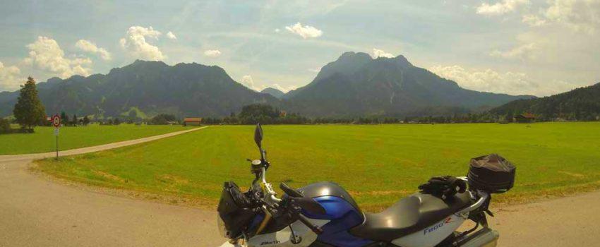 Motorradtour im Alläu