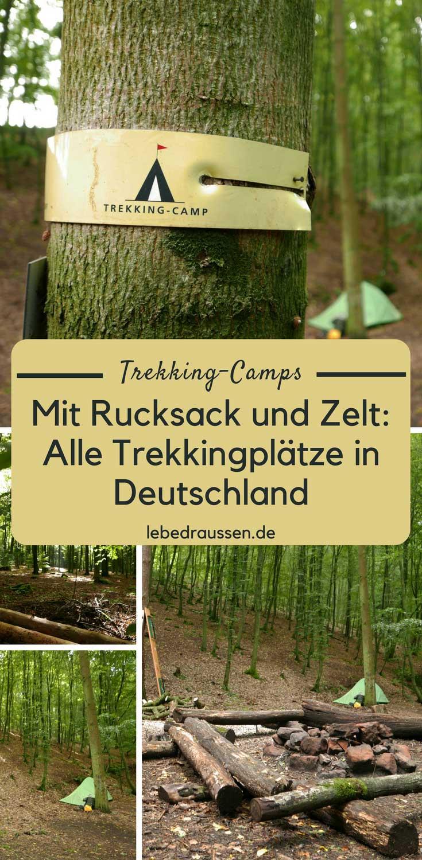 mit rucksack und zelt alle trekkingpl tze in deutschland. Black Bedroom Furniture Sets. Home Design Ideas