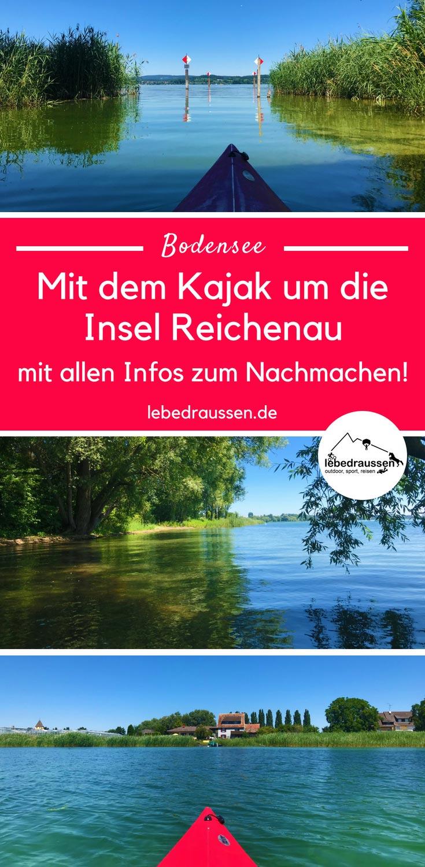 Insel Reichenau Karte.Bodensee Tipp Mit Dem Kajak Um Die Insel Reichenau